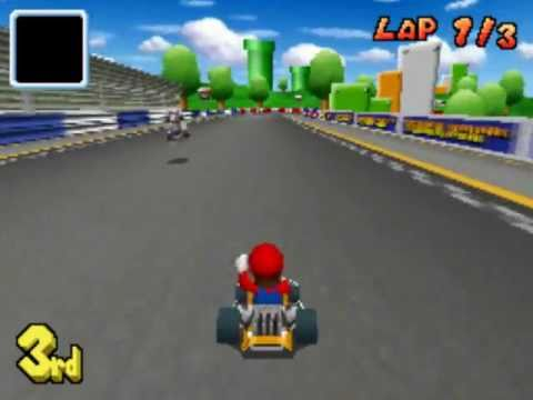 mario kart ds figure 8 circuit youtube. Black Bedroom Furniture Sets. Home Design Ideas