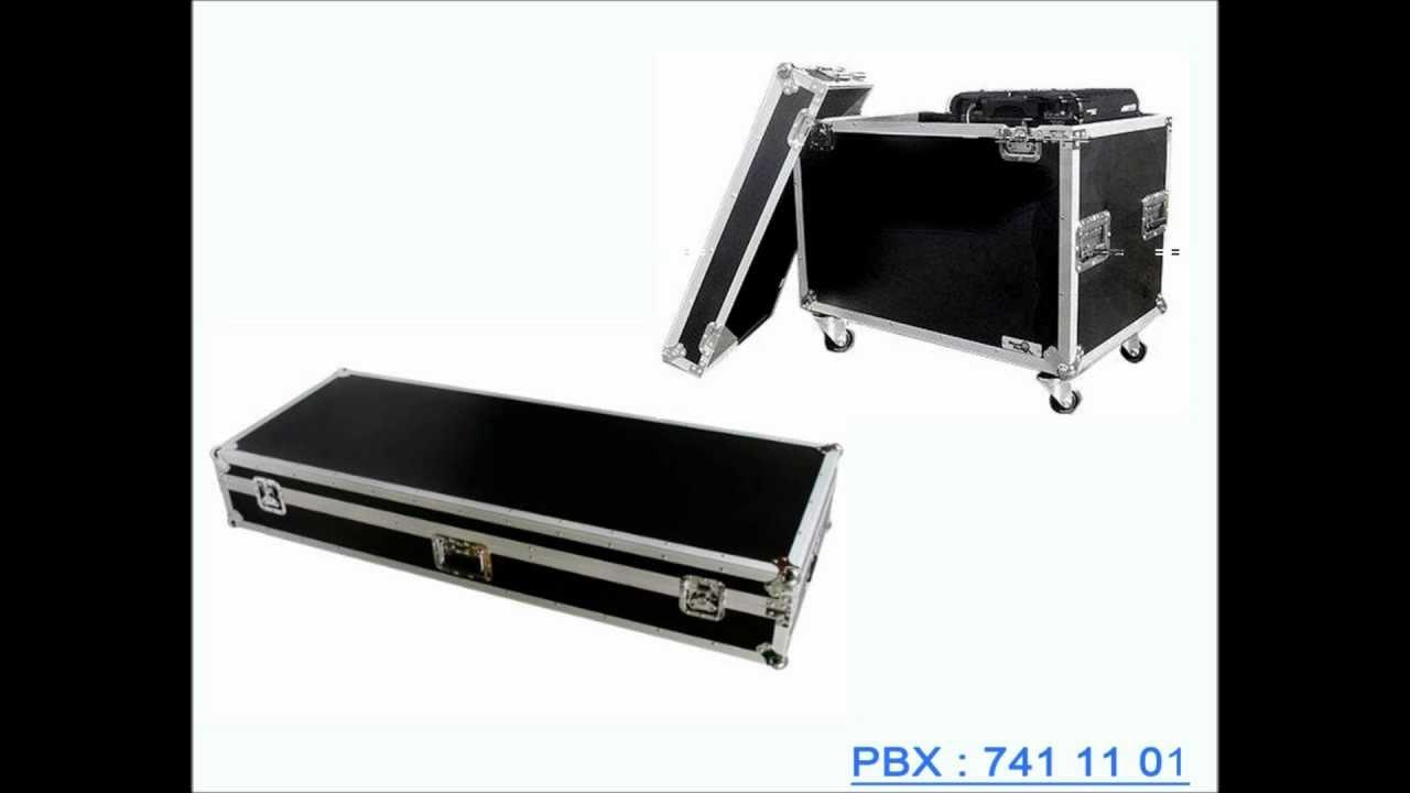 Estuches cajas para transportar equipos delicado rack case - Muebles para equipo de sonido ...