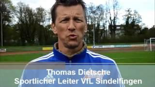Pressekonferenz VfL Sindelfingen - FC 07 Albstadt vom 17.04.2016