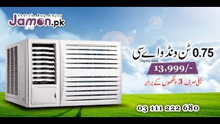 Imported Japanese Used 0.75 Ton Window AC  available at Jamon.pk - 03 111 222 680