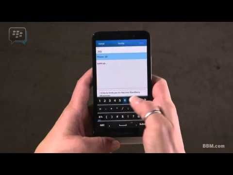BBM:How To Add A Contact By PIN