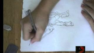 Starcraft Marine Drawing (Speed Sketch)!