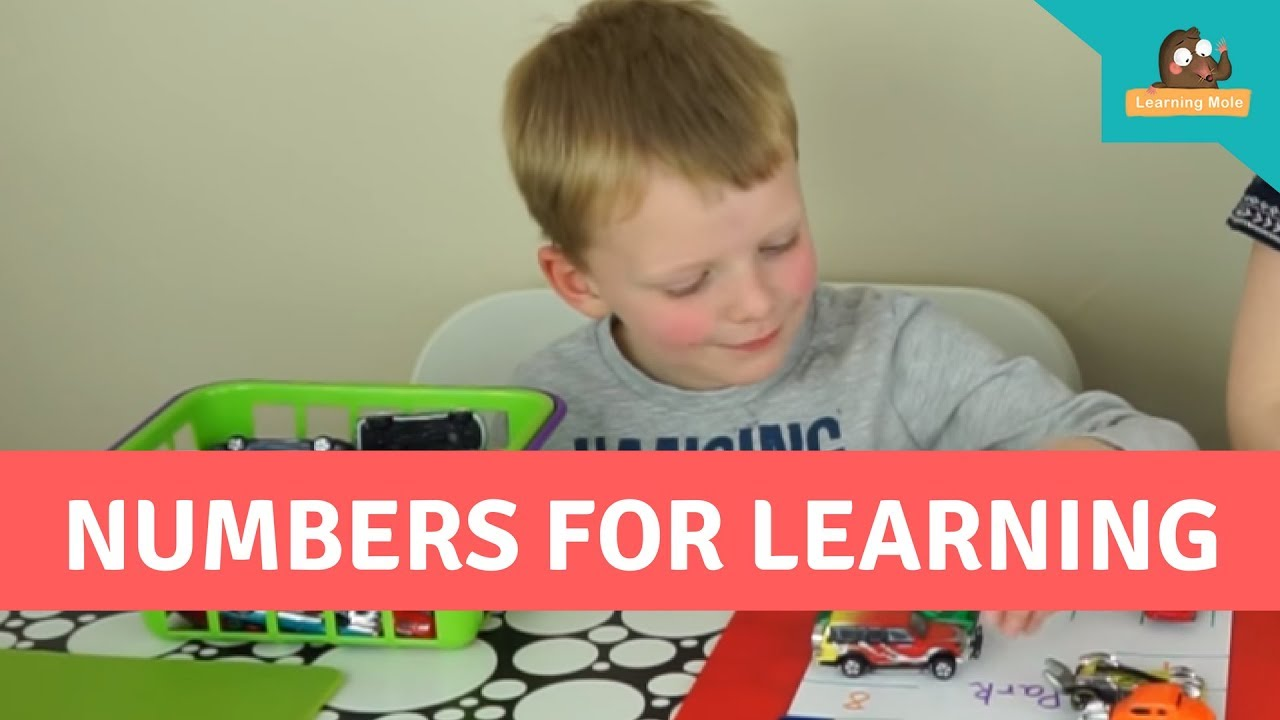 Learning Numbers and Number Recognition for Kids