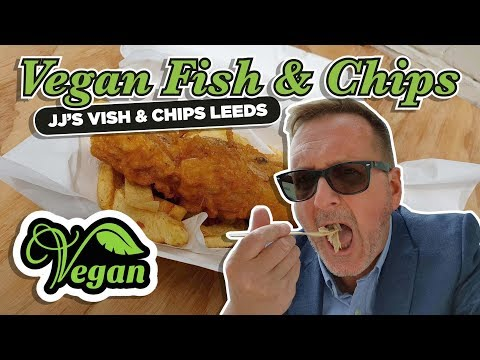 JJ's Vish And Chips Leeds (Vegan Fish & Chips)