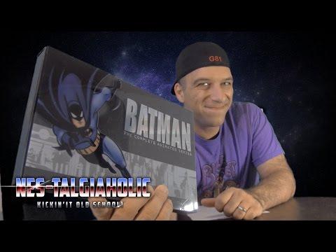 1990's Batman Animated Series Complete DVD Set Unboxing - NEStalgiaholic