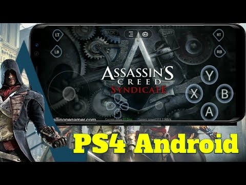 Assassins Creed Syndicate For Android Ll Full Gameplay For PS4 Emulator On Mod Gloud Games