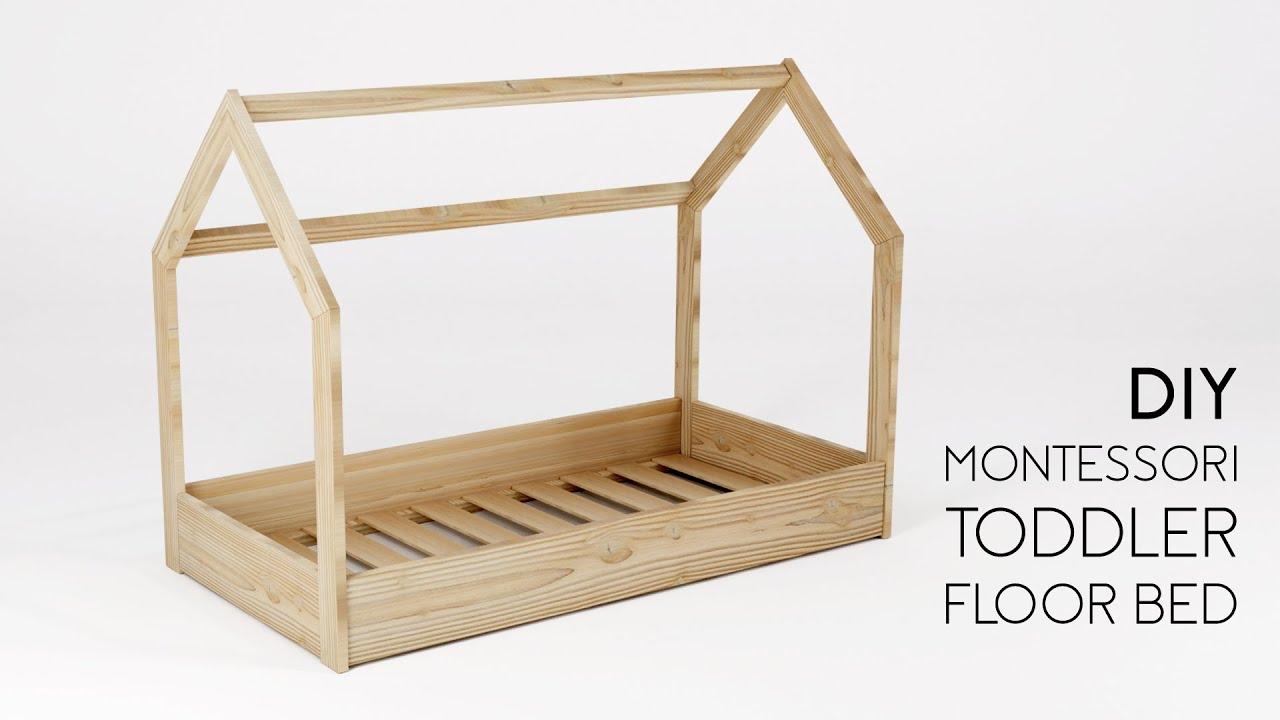 MONARCA Montessori Toddled Floor Bed pt1