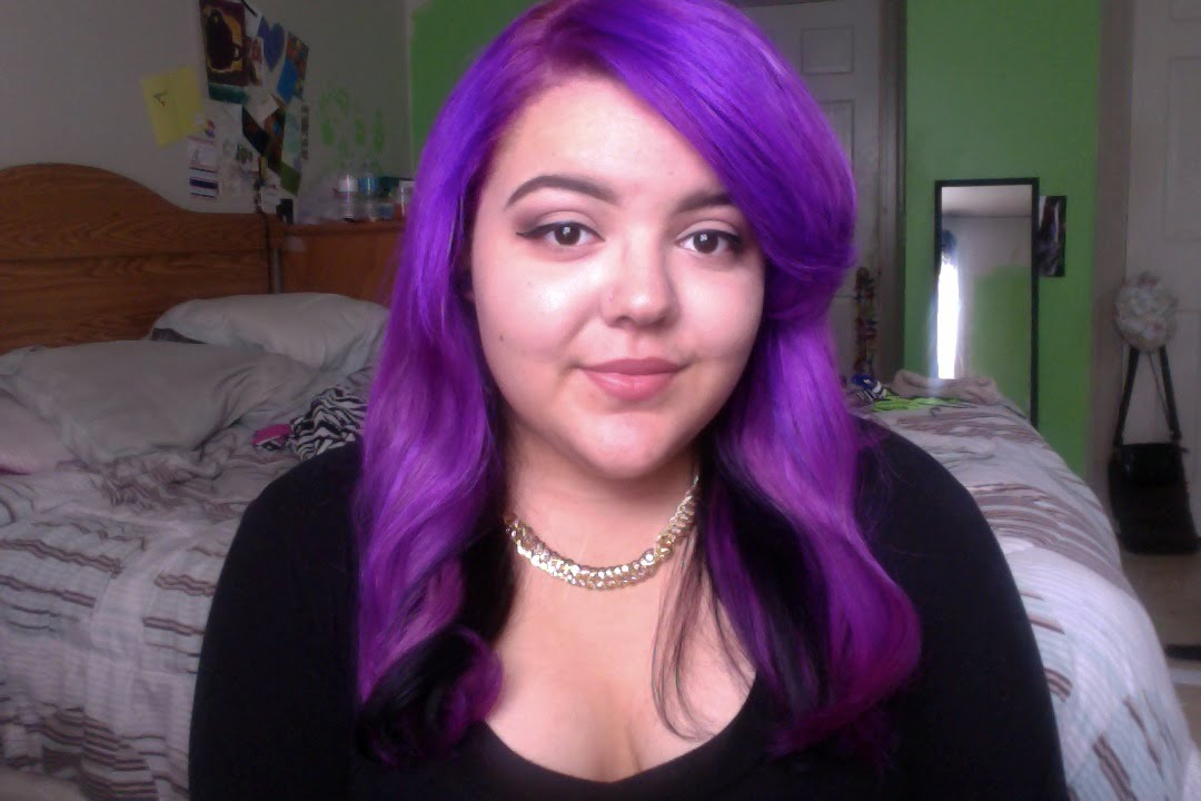 Purple Hair! - YouTube