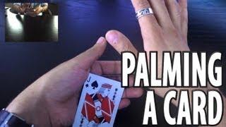 Vanishing and Producing a Card -- Tenkai Palm Tutorial