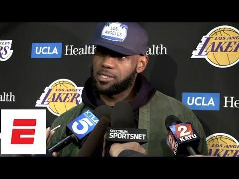 LeBron James Press Conference after Lakers' loss vs Blazers | NBA Interviews