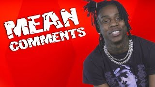Polo G Kills Internet Trolls With Kindness | Mean Comments