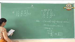 08- Matrices and Determinants