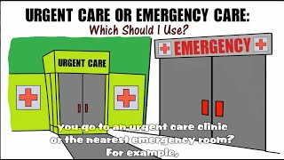 Urgent Care or Emergency Care?