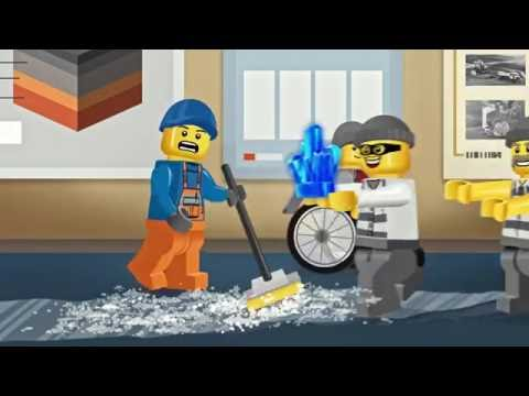 Lecture In Larceny - LEGO City - Movie Mixer Mash Up