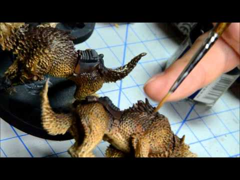 How to Paint: Space Wolves Thunderwolves Part 1 of 2