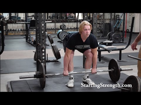 Deadlift Stance | On the Platform