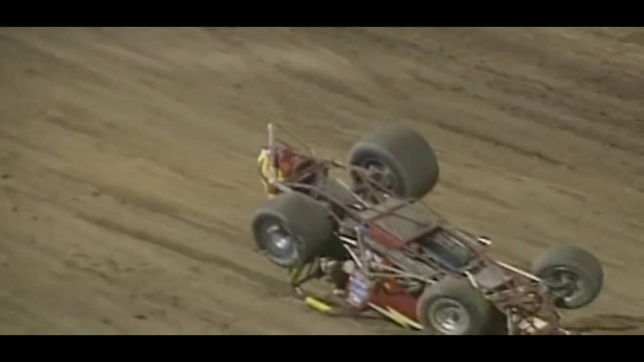 Sprint Car Flips Crashes