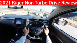 2021 Renault Kiger Non Turbo Automatic First Drive Impression l Aayush SSM