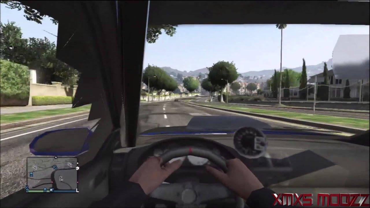 GTA V- First Person Mod- (MOD SHOWCASE) PS3