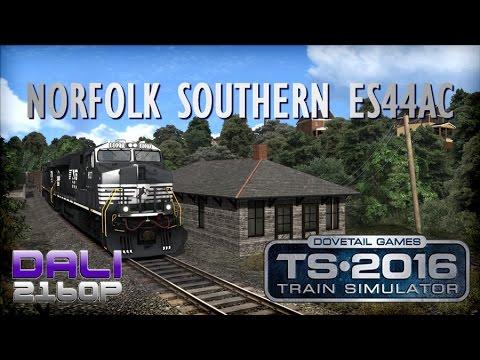 Train Simulator 2016 ES44AC Norfolk Southern PC UltraHD 4K Gameplay 60fps 2160p