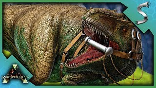 SURPRISE GIGA TAME! SOLO GIGANOTOSAURUS TRAPPING AND TAMING! - Ark: Survival Evolved [Cluster E40]