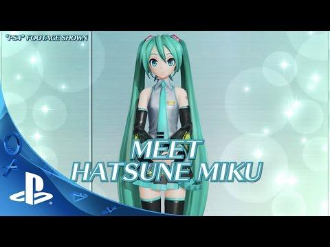 Hatsune Miku: Project Diva X - Gameplay Trailer   PS4, PS Vita