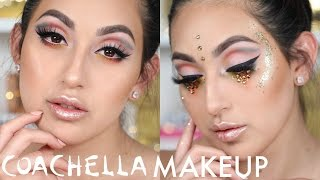 COLORFUL FESTIVAL MAKEUP TUTORIAL | BEAUTYYBIRD