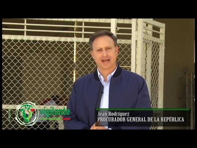 Allanamiento cárcel del Kilómetro 15 de Azua