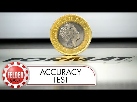 FORMAT-4 kappa 550 e-motion: Automatic rip fence accuracy test