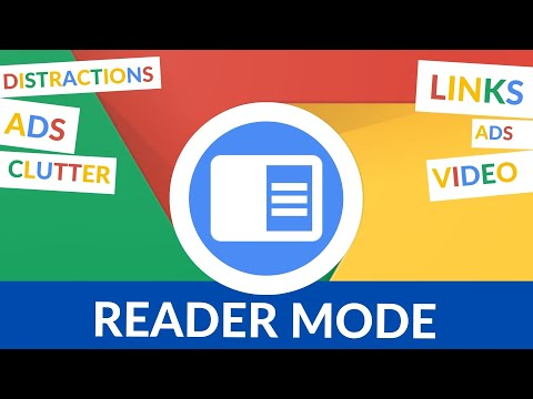 Remove distractions with Reader Mode in Chrome