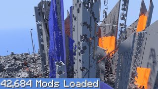 2b2t but I download every single mod...