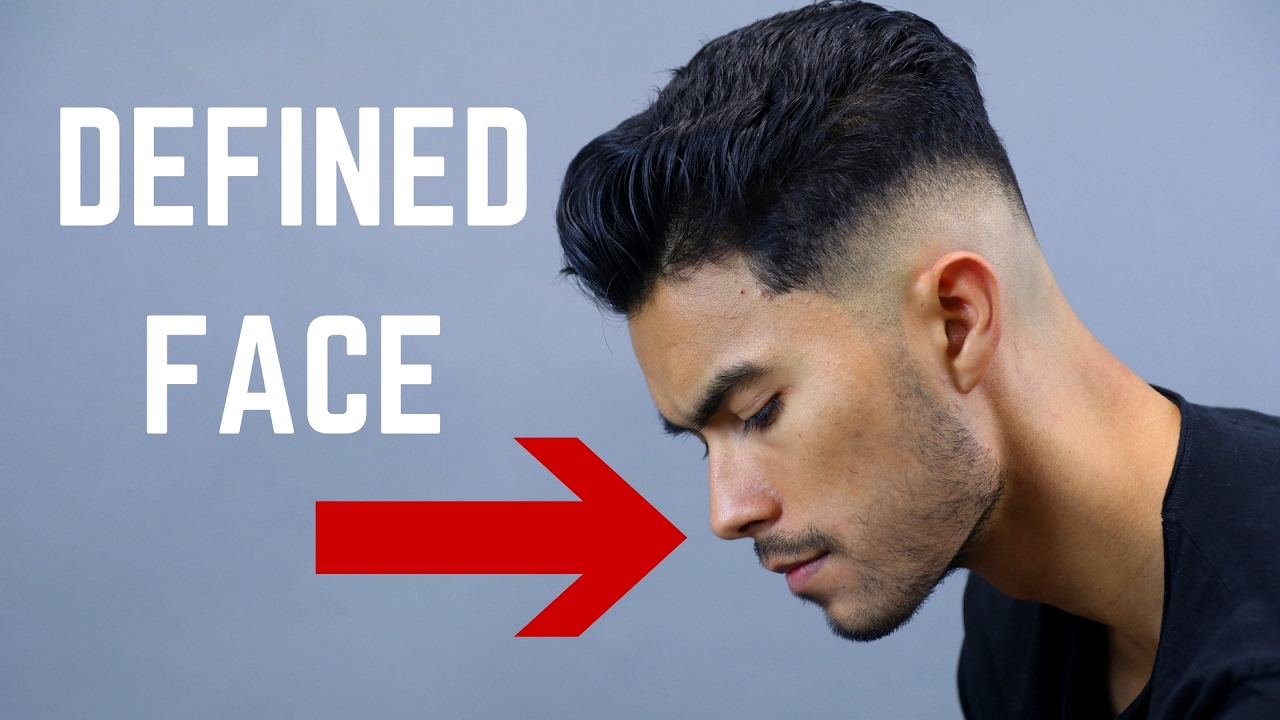 how to get a more structured jawline