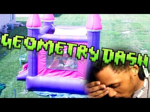 OVERCOMING A BAD DAY | Geometry Dash #3