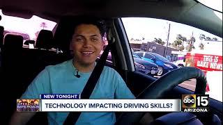 Technology impacting driving skills?