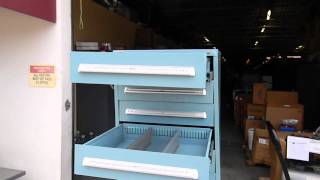 Stanley Vidmar Tool Cabinet Walkaround Demonstration