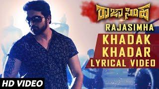 Khadak Khadar Lyrical Song | Raja Simha Kannada Movie Songs | Anirudh, Nikhitha, Sanjana