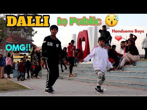 Dalli dance in public