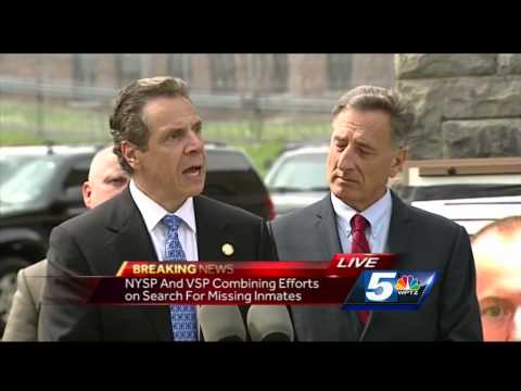 N.Y., Vt. governors speak at prison escape news briefing