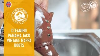 How To Clean Your Panama Jack Vintage Nappa Boots