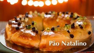 Receita de Pão Natalino (Pão Doce Vegan / Vegan Bread ENG SUB)
