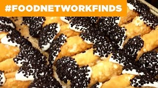 How Mike's Pastry Makes Cannoli | Food Network