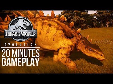 20 MINUTES OF BRAND NEW GAMEPLAY! NEW ISLAND, NEW DINOSAUR! | Jurassic World: Evolution Gameplay