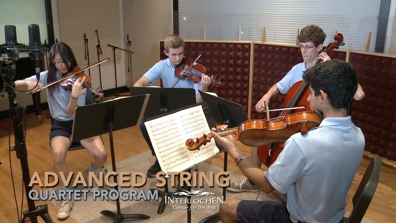 Advanced String Quartet | Interlochen Summer Arts Camp