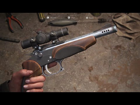 The Last of Us Part II – All Weapon Upgrade Animations