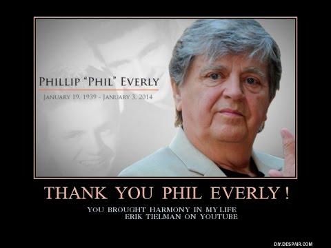 Phil Everly sings live  Sweet Pretender