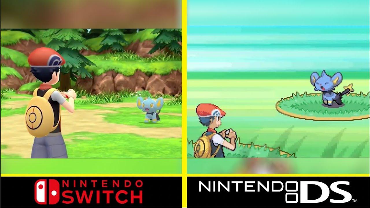Detailed Comparison: Pokemon Diamond & Pearl Remakes vs Original Games  (2006) - YouTube