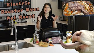 Pot Roast In The Electric Roaster Oven Recipe! Episode 153