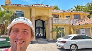 Sneaking Into My Friends NEW Mansion Famous Youtubers