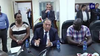 وفد صناعي كيني يزور مدينة الملك عبد الله الثاني الصناعية - (27-3-2018)