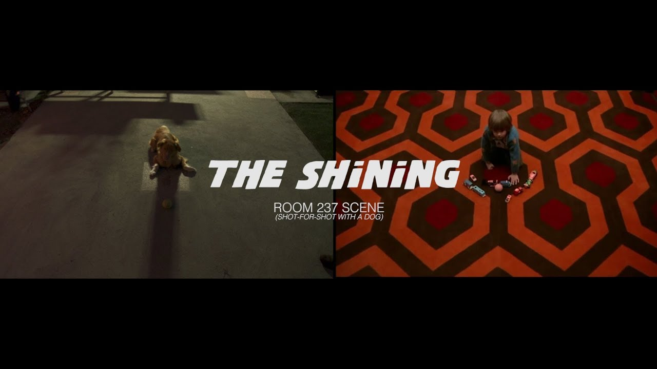 Good Boy x The Shining - side by side
